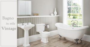 Come arredare un bagno in stile vintage con i complementi giusti